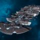 """Tau Merchant Fleet Cruiser - """"Lar'Shi Tolku"""" - [D'Yanoi Sub-Faction]"""