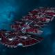 "Tau Merchant Fleet Cruiser - ""Lar'Shi Tolku"" - [Farsight Enclave Sub-Faction]"
