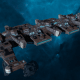 """Tau Merchant Fleet Battleship - """"Gal'Leath Vash'Ya"""" - [D'Yanoi Sub-Faction]"""
