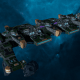 "Tau Merchant Fleet Battleship - ""Gal'Leath Vash'Ya"" - [Dal'yth Sub-Faction]"