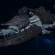 "Tyranid Battleship - ""Acid Infestation Hiveship"" - [Ouroboris Sub-Faction]"