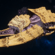 "Tyranid Battleship - ""Bio Tentacles Hiveship"" - [Jormungandr Sub-Faction]"