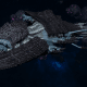 "Tyranid Battleship - ""Bio Acid Hiveship"" - [Ouroboris Sub-Faction]"