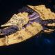 """Tyranid Battleship - """"Bio Acid Hiveship"""" - [Jormungandr Sub-Faction]"""