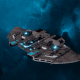 "Tau Protector Fleet Frigate - ""Castellan"" - [D'Yanoi Sub-Faction]"