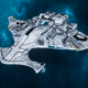 "Tau Protector Fleet Light Cruiser - Il'Porrui ""Emissary"" Dal'Yth - [Tau'n Sub-Faction]"
