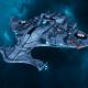 """Tau Protector Fleet Light Cruiser - Il'Porrui """"Emissary"""" Dal'Yth - [Sa'cea Sub-Faction]"""