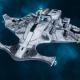 """Tau Protector Fleet Light Cruiser - Il'Porrui """"Emissary"""" Bork'an - [Tau'n Sub-Faction]"""