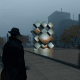 In game there's not a lot of trees around... Of course for legal reasons(?) Ubisoft made the sculpture extra arty.
