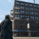 In-game the old bootlegging factory looks to be located in a gentrified hipster neighborhood.