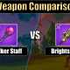 Brightspear vs stalker staff breakdown