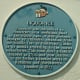 Plaque in Licorice Way, Pontefract UK