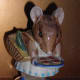 Beswick Beatrix Potter—Appley Dapply BP2a, First Version, Bottle Out. This version with the bottle out is the valuable, more sought-after version.