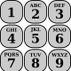 A reference for a telephone number pad.