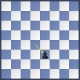The white pawn is captured.