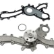 Water pump and gasket for the Toyota / Lexus V6 GR-FE engine