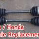 Acura & Honda CV Axle Replacement