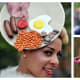 Wacky hats from Ladies' Day at Royal Ascot (the Oscars of hat design).