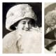 In Edwardian times, the wide brimmed hats of  the Merry Widow look worked with the pompadour hairstyles and balanced the fuller skirts. The lighter color linen hats of summer were indicative  of upper class society.