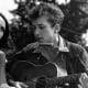1960s: Joan Baez and Bob Dylan.