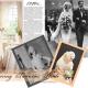 Vintage 1920s wedding dress styles.