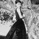 "Audrey Hepburn wearing an LBD in ""Sabrina"""