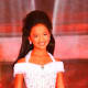 My niece, Madison, has won many pageants. Her mom and I stoned this winning dress ourselves!