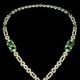 The Mackay Emerald Necklace is a superb example of Cartier's art deco jewelry