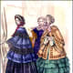 Ruffled skirts in 1853