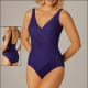 Dark purple is a beautiful and slimming color.