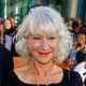 The Ever Gorgeous Silver Fox, Helen Mirren, with deep waves and soft sheen.