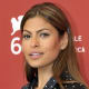 Eva Mendes with blonde highlights.