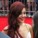 Ariana Grande with mahogany hair color.