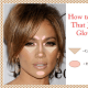 """Apply Highlighter on select areas to dupe the Jennifer Lopez """"J Lo Glow"""" makeup look!"""