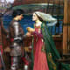 The famed lovers, Tristan and Isolde. Tristan is a common boys' name in this region.