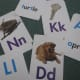 ABC cards for letter learning