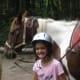 Little girls love horses!