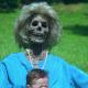 And you're wondering where she got her fear of grandma!
