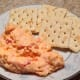Pimento cheese spread made with shredded cheddar, mozzarella, and queso fresco