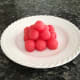 Watermelon cannonballs
