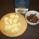 Chestnuts and potatoes for soup
