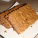 Finished bars ready to eat.