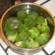 Poaching broccoli