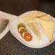 Crisp skin peels easily from cooked pollack fillet