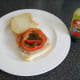 Jalapeno relish is added to steak and bell pepper slices
