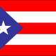 The Puerto Rican flag.
