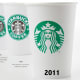 The Starbucks logo has changed quite a bit over the years.