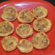 Step ten: Samosa pinwheels are ready to eat! Serve them with mint leaves chutney or date-tamarind chutney or tomato sauce
