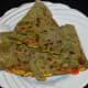Serve these pancakes hot with pickle or onion-yogurt raita. Enjoy this scrumptious meal!