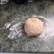 Photo 4 Dough on floured surface, time to knead